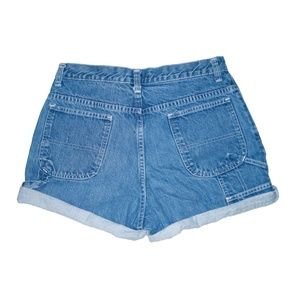 American Outpost Shorts - Vintage Medium Wash High Waisted Rise Shorts 28/29